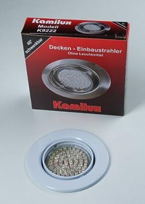 LED Einbauleuchte Einbauspot weiss 60er LED-Spot Tom 230V Warmweiss von Kamilux GmbH bei Lampenhans.de
