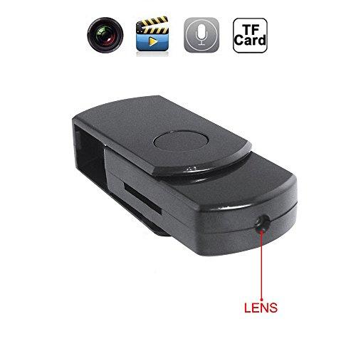 Mengshen® HD portátil Mini HD DVR espía USB DISK cámara oculta det