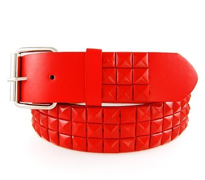 eeddoo-studded-belt-with-studs-in-red-belt-buckle-leather-belt-for-men-and-women-ladies-mens-childre