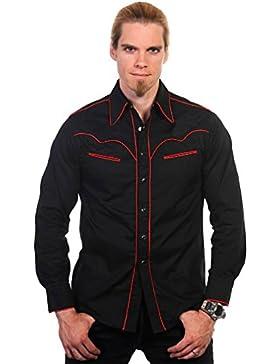 Banned -  Camicia Casual  - Uomo