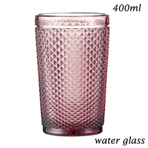 HJB Wasser Champagnerglas Tasse zum Trinken von Rotweinglas Getränkemilchglas Eisbecher...