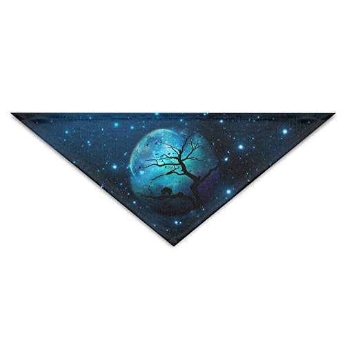 gical Tree Brain Baby Pet Triangle Head Scarfs Dog Scarves Puppy Triangle ()