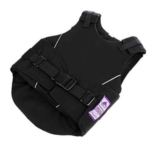 Homyl Kinder Jungen Mädchen Sicherheitsweste Schutzweste Körperschutz Reitschutzweste Reiten Sport Schutzausrüstung - M