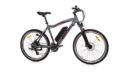 Moma Bikes Bicicleta Electrica, Montaña SHIMANO EMTB-26,...