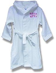 CTI 39468 Peignoir 14/16 ans Hello Kitty White
