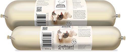 Frostfutter Nordloh Hundewurst aus Lamm- und Geflügelfleisch 6X 800g
