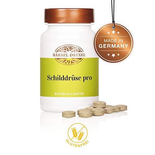BÄRBEL DREXEL Schilddrüse Pro Kapseln (125 Stk) 100% Herstellung Deutschland Vitamin D Selen