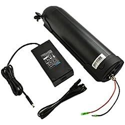 EU aucune Taxe 48 V 12,8 Ah Li-Ion Bouteille E Bike Battery Pack batterie de vélo électrique en Samsung Inr18650-33 G compatible avec 48 V1000 W entrepôt (Allemagne) (PXL-SH-48128-LG)