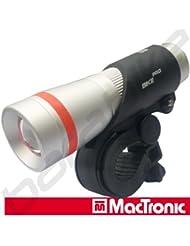 BPM170L LED Fahrradbeleuchtung vorn SILVER SCREAM