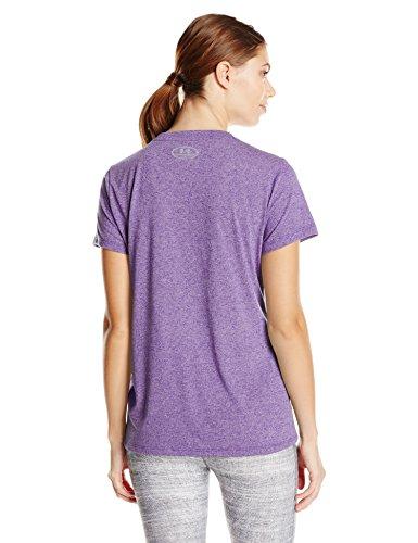 Under Armour Damen Threadborne T-Shirt Indulge/Steel
