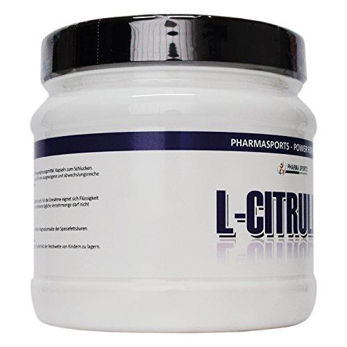 240 Kapseln L-CITRULLIN-MALAT 1000 mg pro Kapsel | PRE WORKOUT Aminosäure | Durchblutung der Muskulatur | N.O.-Vorstufe (Nitric Oxide/Stickstoffmonoxid) | Pump und Leistungsfähigkeit | höchste Qualität | Made in