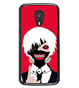 Scary Joker 2D Hard Polycarbonate Designer Back Case Cover for Meizu M2 Note :: Meizu Blue Charm Note2