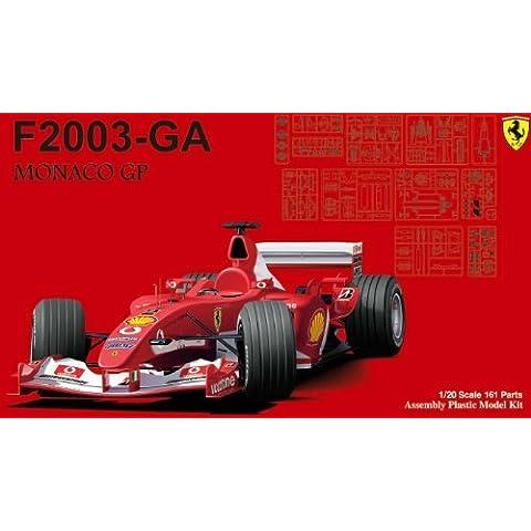 1/20 Ferrari F2003-GA Monaco GP (Model Car) by Fujimi