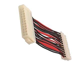 syba atx 24 pin m nnlich auf weiblich computer zubeh r. Black Bedroom Furniture Sets. Home Design Ideas