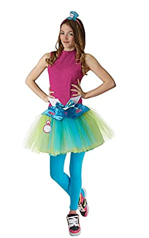 Tween Mad Hatter Girls Kids Book Day Week Wonderland Accessory Set Fancy Dress (Small Age 11-12 Years)