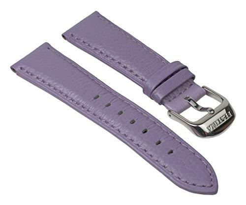 Festina Ersatzband Uhrenarmband Materialmix - Leder Band mit 21mm - Variantenartikel für F16590/, Fa
