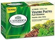 L'Angelica, Tisana Funzionale Ventre Piatto a Base di Finocchio, Anice Stellato e Menta, Tisane contro il