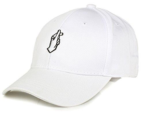 Moda Gorra de béisbol ajustable con bordada de algodón de estilo vintage unisex