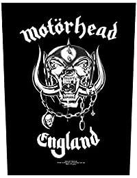 Motörhead espalda parche–Motörhead England–Motörhead Back Patch