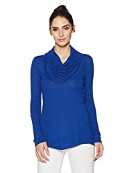 AND Womens Body Blouse Shirt (AW16NA117KTOEINK BLUE14)