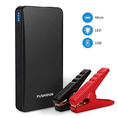 Arrancador de Coche Portatil 6000mAh 400A Jump Starter Power Bank Arrancador de...