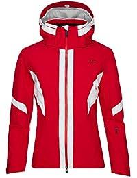Kjus W. Laina Jacket, Mujer, Rojo