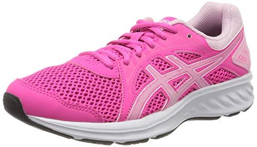 Asics Womens JOLT 2 Running Shoe, Pink Glo/White, 42 EU