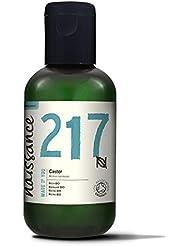 Naissance Huile Végétale de Ricin Pressée à Froid - Certifiée BIO- 100ml - vegan, sans hexane, sans OGM nourrit et hydrate cils, sourcils et cheveux
