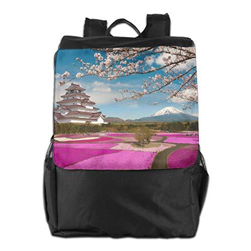 Season In Japan Unisex Casual Schultern Rucksack