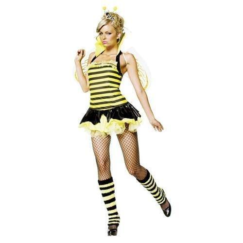 Schiedsrichter Sexy Kostüm - Bienenkönigin Kostüm