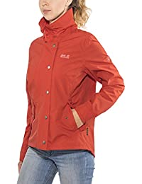 Volcano Donna' Impermeabile Jack Giacca Newport Red Shell Traspirante S Wolfskin Donna 8OOxUwP