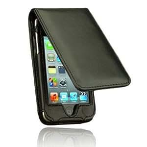 TeckNet Etui en cuir de Apple iPod Touch 4G + 2 x Film de protection