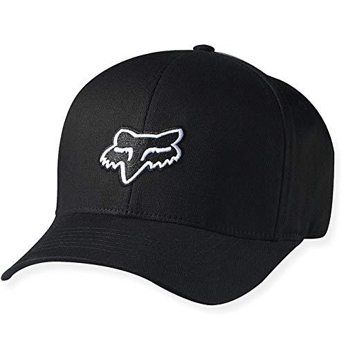 Fox Flexfit Cap Legacy Schwarz Gr. XXL