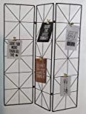 MEMO Design Industriel Decoration TRIPTYQUE PARAVENT Deco LOFT Metal Plante
