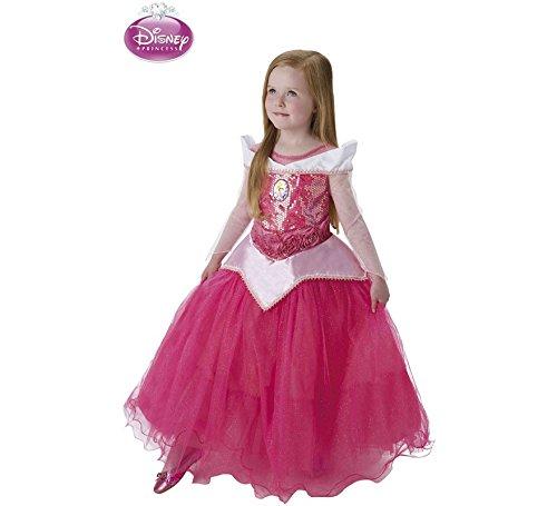 Princesas Disney - Disfraz de Bella Durmiente Premium para niña, infantil 3-4 años (Rubie's 620471-S)
