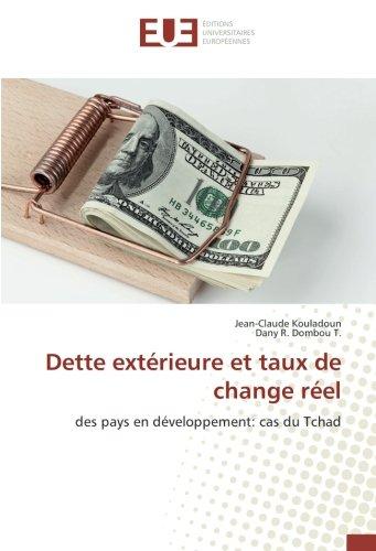 Dette extérieure et taux de change réel