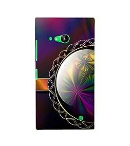 Unique Print back cover for Nokia Lumia 730