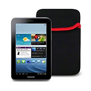 Samsung Galaxy Tab 2 7.0 Tablet Neoprene Pouch Case - Black Part Of The Qubits Accessories Range