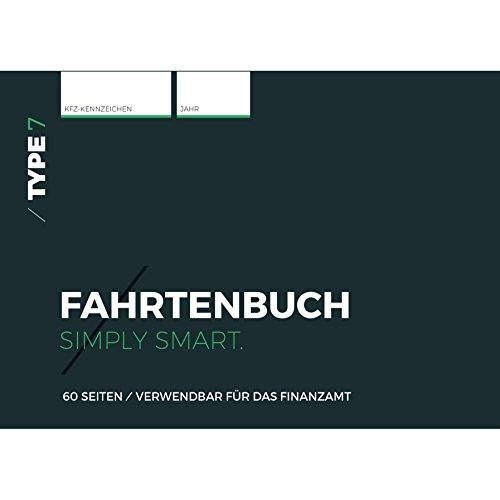 Type 7 - Premium-Fahrtenbuch, DIN A6, 60 Seiten, für Finanzamt geeignet - für PKW und LKW - Für Deutschland und Österreich
