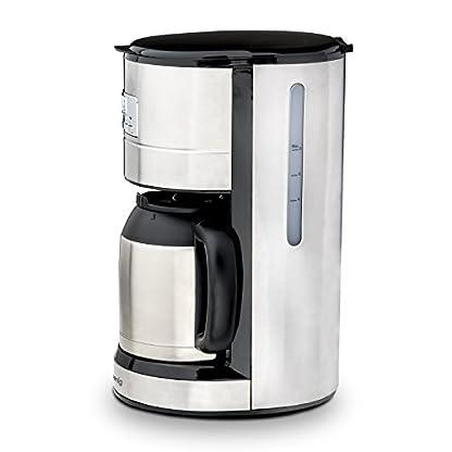 HKoenig-STW26-Filterkaffeemaschine-programmierbar-12-L-Kapazitt-10-Tassen-Anti-Tropfsystem-Warmhaltefunktion-1000-W-Edelstahlgehuse-silber