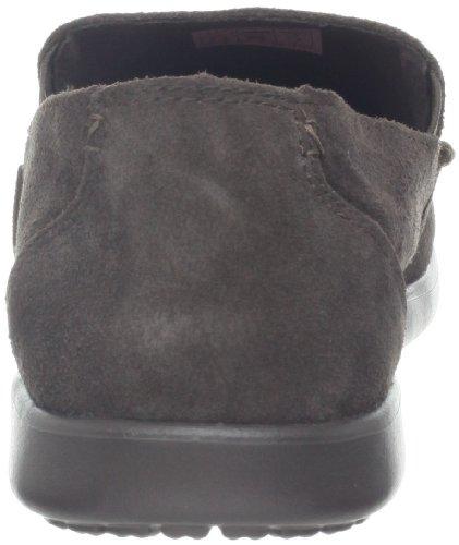 crocs Men's 14756 Santa CZ SDE Loafer,Black/Charcoal,7 M US Espresso/Espresso