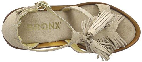 Bronx - Bbannerx, Scarpe col tacco Donna Grau (540 Taupe/gold)