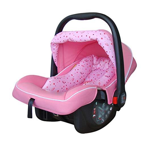 Byx- Baby Schaukelstuhl elektrische Wiege Smart Shaker Baby Komfort Stuhl Bett Korb Korb Schlafkorb -Baby Schaukelstuhl (Farbe : Rosa)