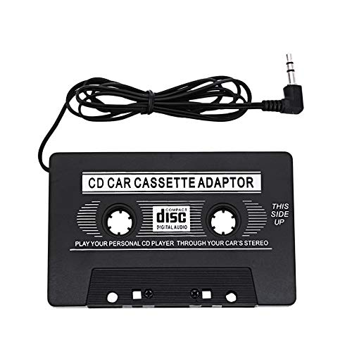 SMARTRICH Auto-Audio-Kassetten-Adapter, tragbar, kompatibel mit iPod/Sony MP3 CD (Mit Auto Satelliten-radio Cd Für)