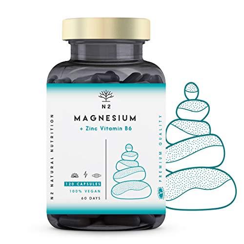 ZMA Magnesio Zinc Vitamina B6 Aumenta Nivel Testosterona Energía Rendimiento Deportivo...