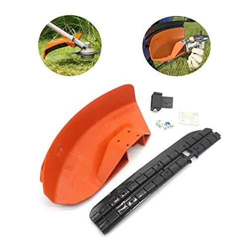 MODIFY-GT Protector Deflector para desbrozadora de cortacésped para STIHL FS110 FS130 FS160 FS180 FS200 FS220 FS240 FS250, sustituye a 4119 007 1013,4119 007 1027