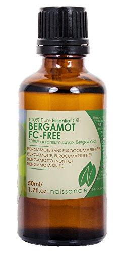 Aceite Esencial de Bergamota Sin Furanocumarinas - 100% Puro - 50ml