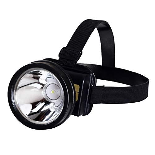 Continuous Lampe Frontale, Lumière de Pêche Mini Poids Léger Projecteur Lampe Nuit Camping Urgence Multifonction Mineur Ergonomie Imperméable Longue Distance Les Lanternes Xénon Lampe de Poche Long se