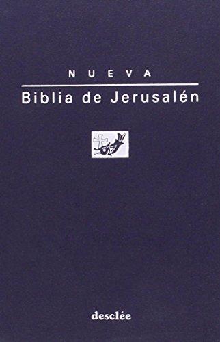 Biblia de jerusalén de bolsillo modelo 1