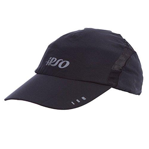 Casquette de running noire IPSO (Taille: TU)